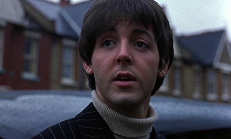 Paul McCartney Filming Help 1965