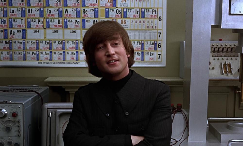 John Lennon filming Help! 1965.