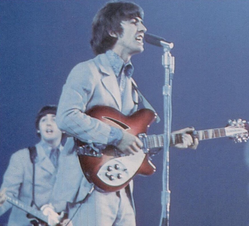 The Beatles at Shea Stadium, August 23rd, 1966.