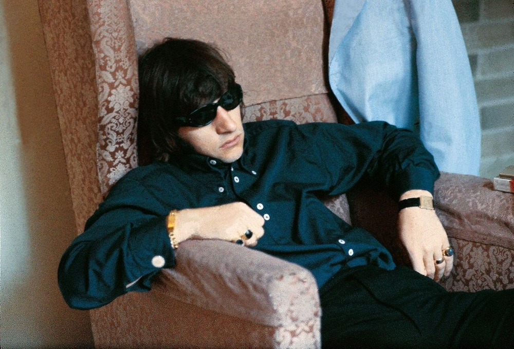 Ringo Starr at the George V hotel in Paris, June 20th 1965.