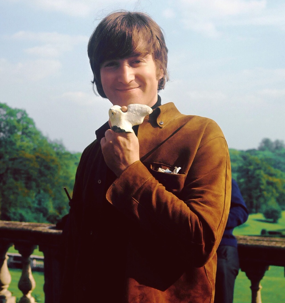 John Lennon filming Help! at Cliveden House, May 11th 1965.