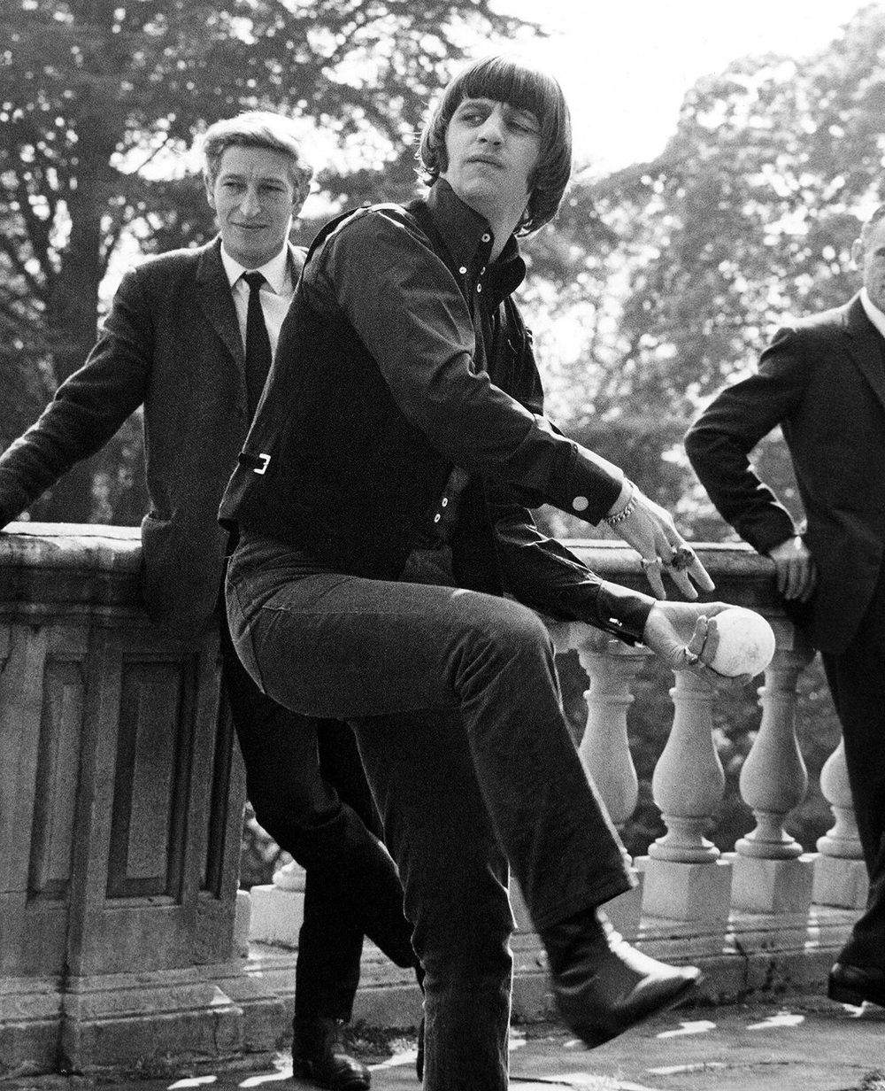 Ringo Starr at Cliveden House, May 11th 1965.