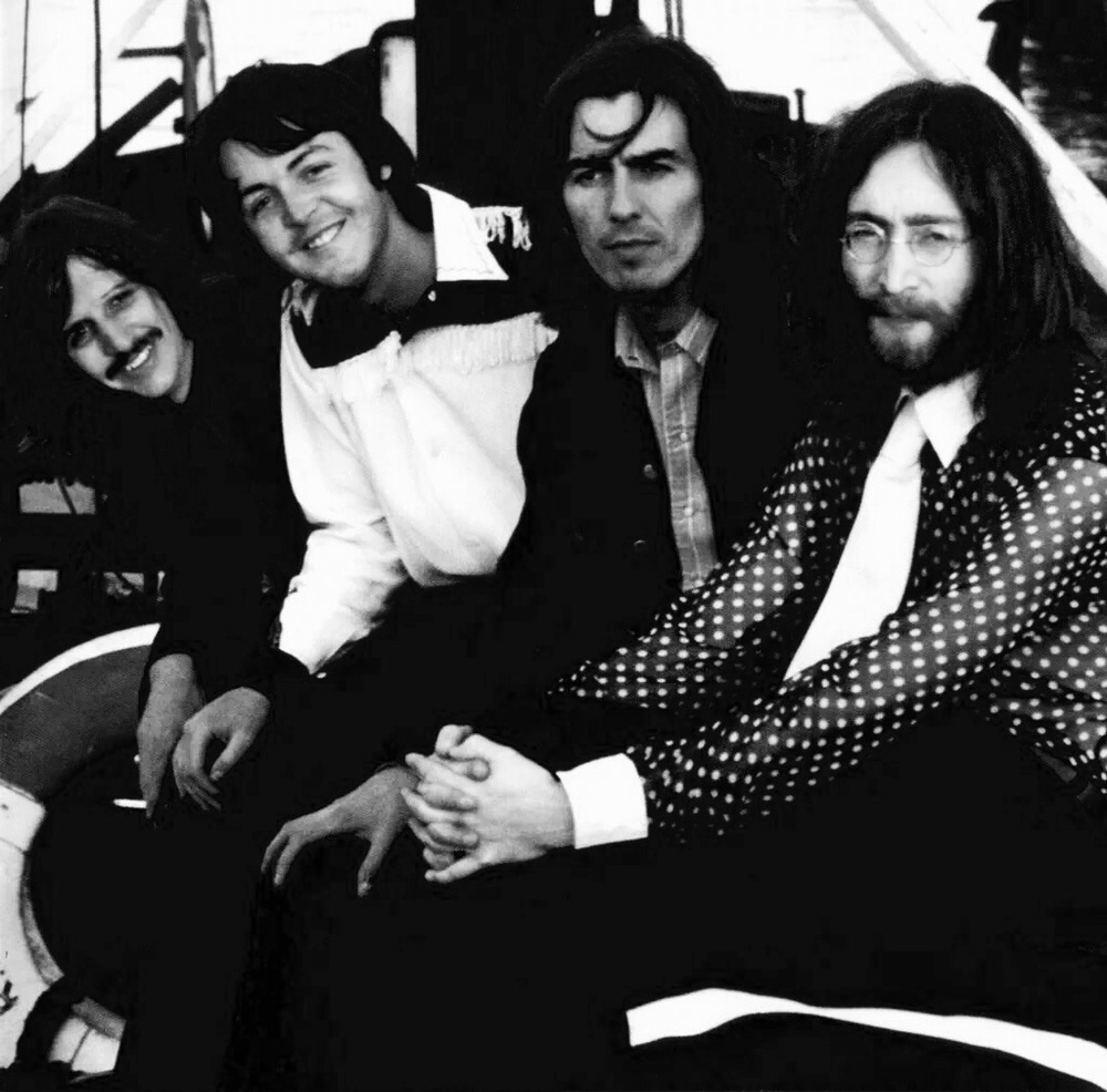 The Beatles photo shoot, 1969.