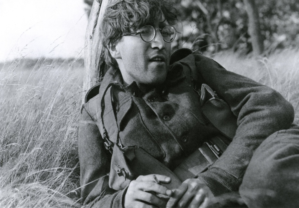 John Lennon filming How I Won the War, 1966.