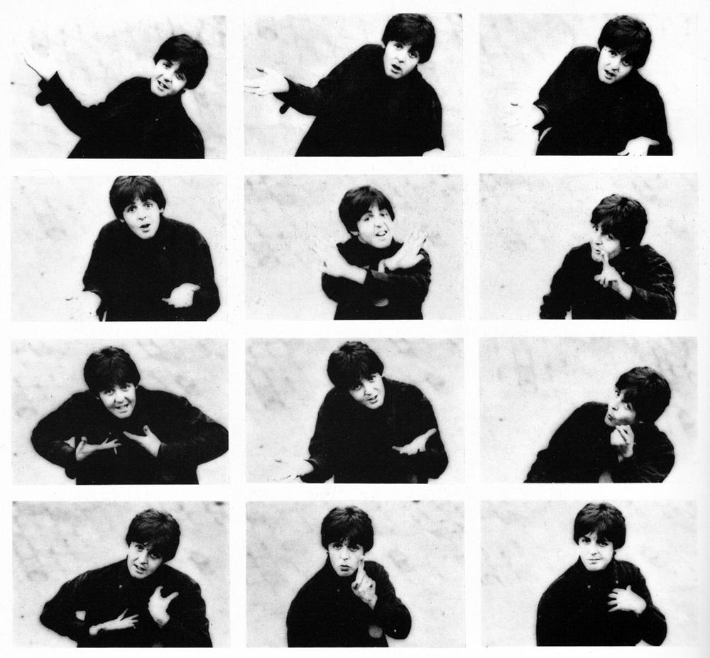 Paul McCartney photo shoot, 1965.