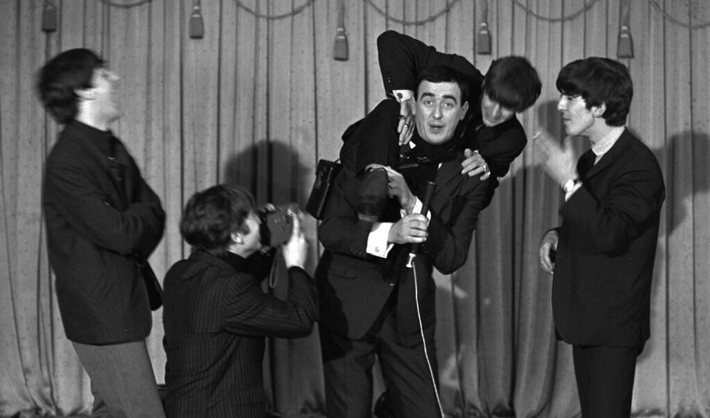 The Beatles goofing around in Dublin, November 7th 1963.