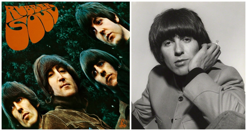 The Beatles' Rubber Soul and George Harrison, 1965.
