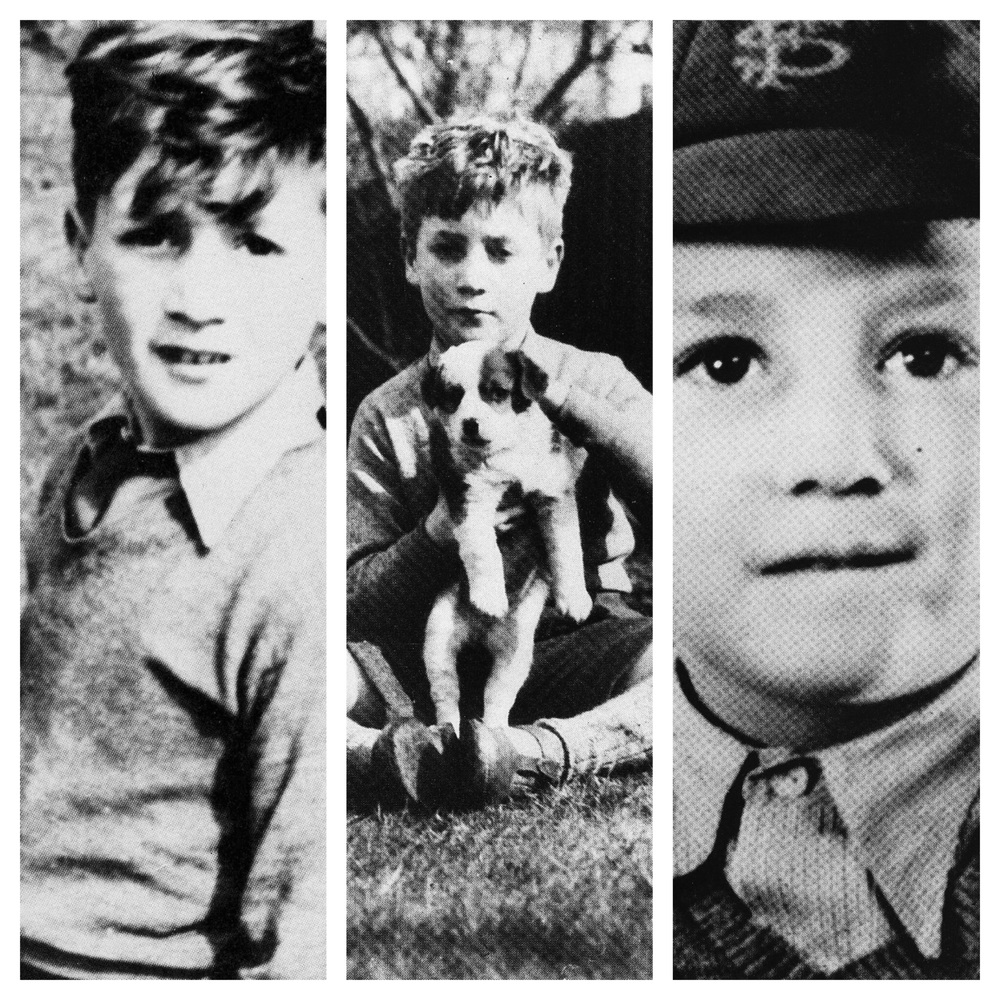 John Lennon, childhood years.