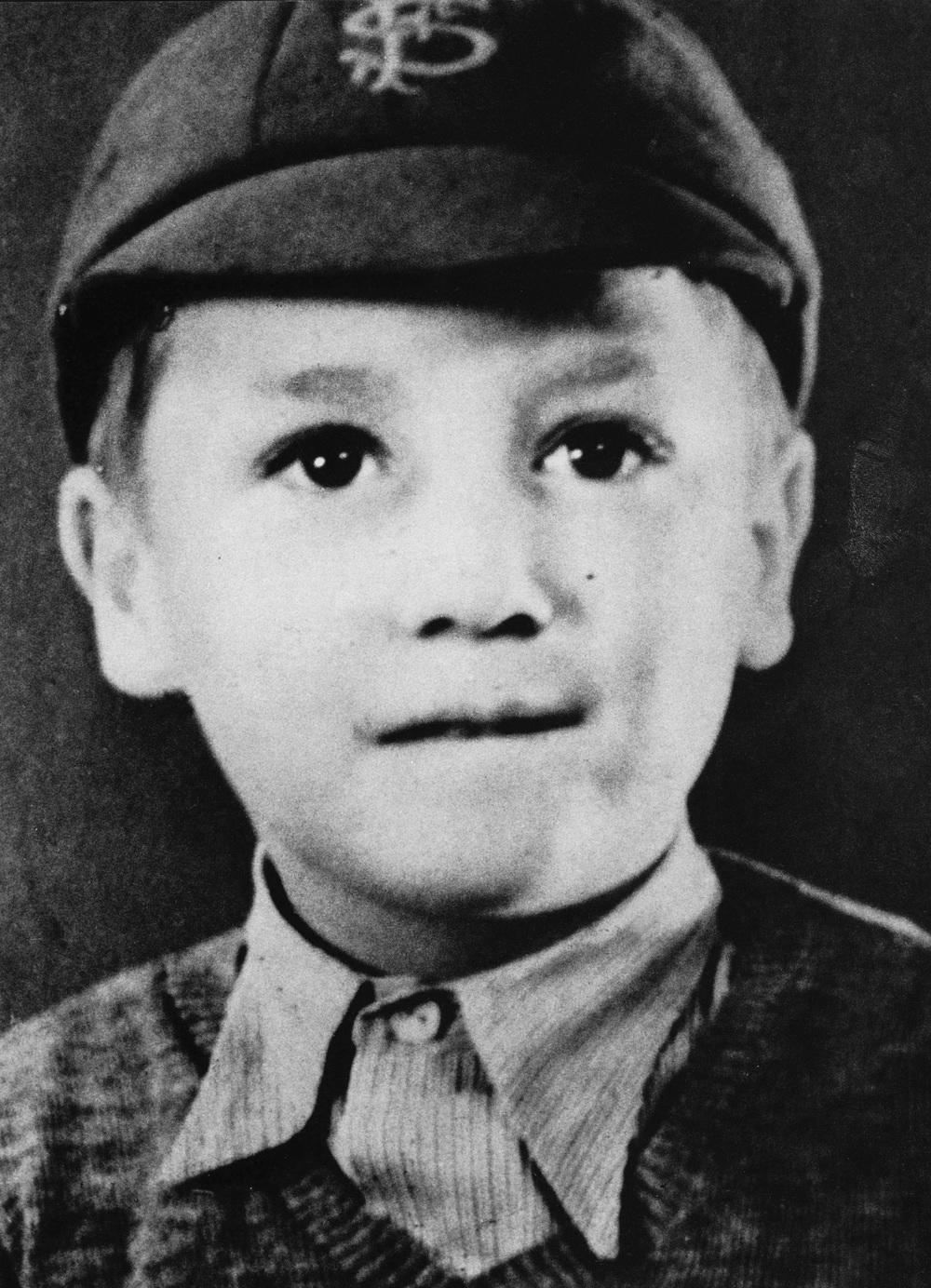 Young John Lennon.