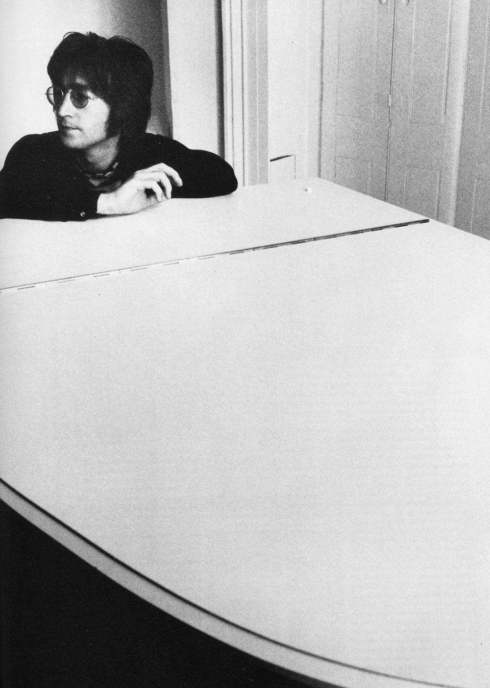 John Lennon at Tittenhurst Park, 1971.