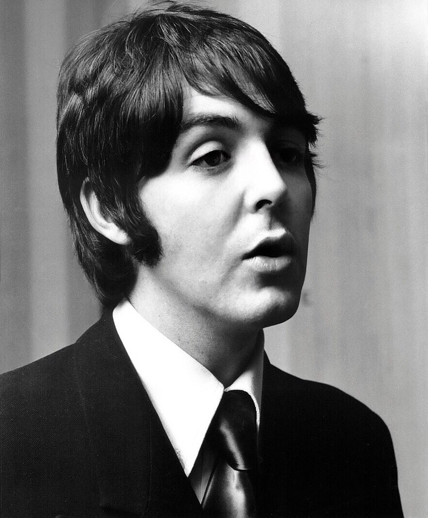 Paul McCartney, 1968.