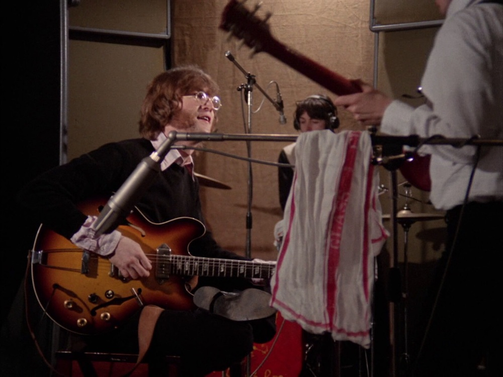 The Beatles recording Hey Bulldog, February 11th 1968.