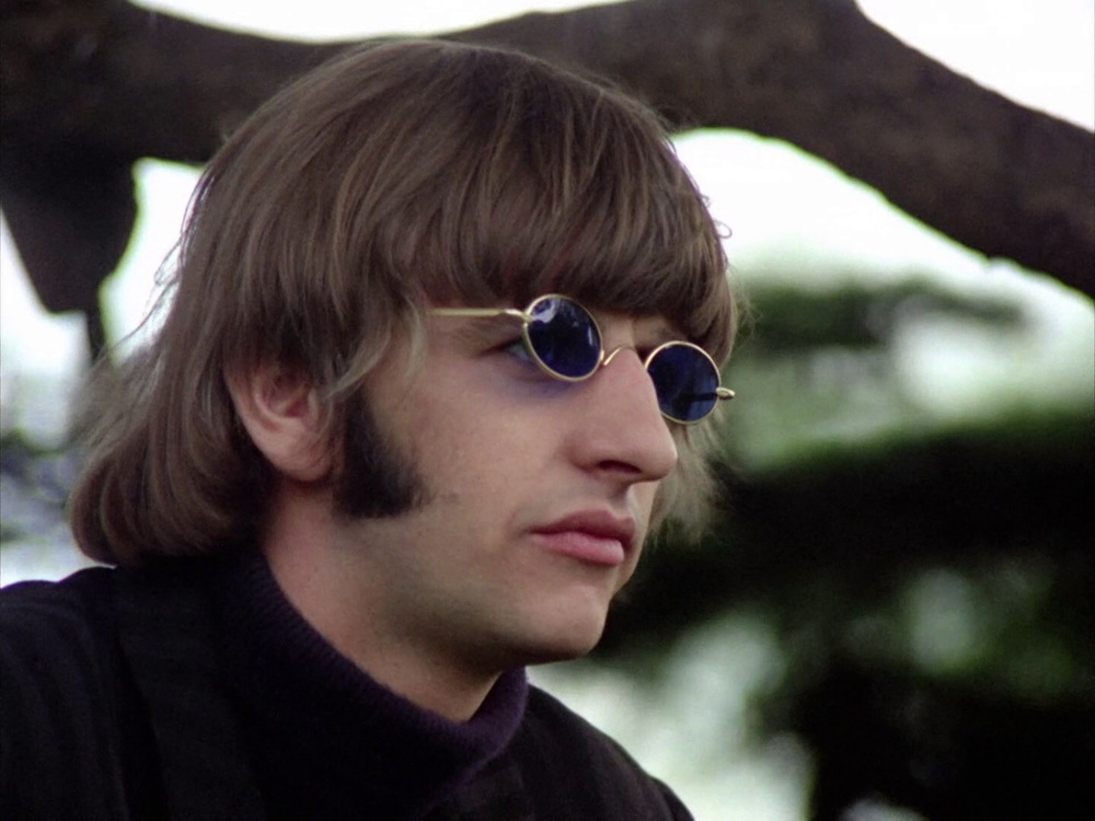 Ringo Starr filming the Rain promo at Chiswick House, May 20th 1966.