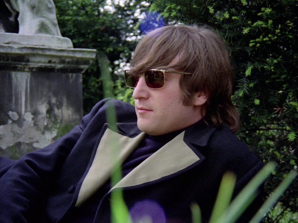 John Lennon filming the Rain promo at Chiswick House, May 20th 1966.