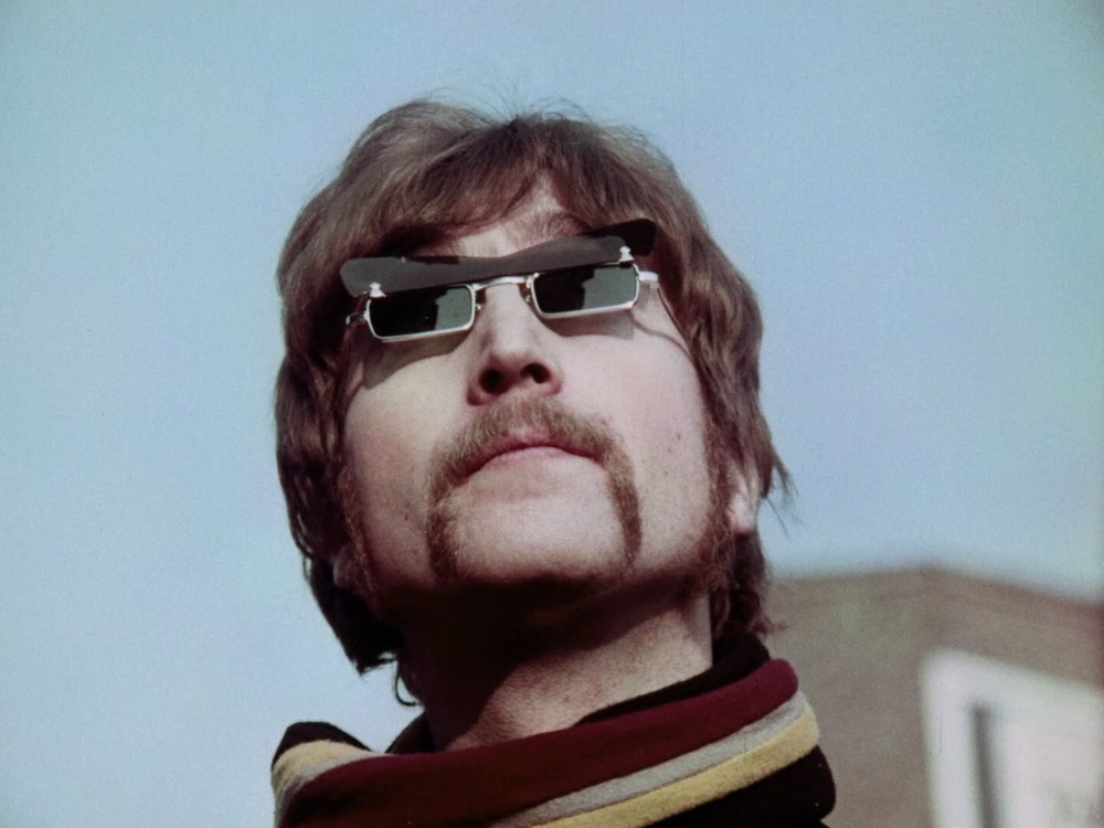 John Lennon filming the Penny Lane promo, February 5th 1967.