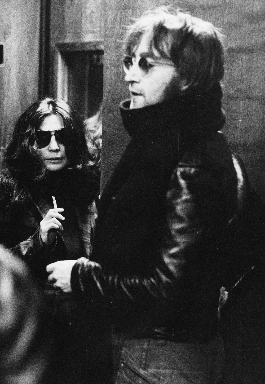 John Lennon an Yoko Ono, 1971.