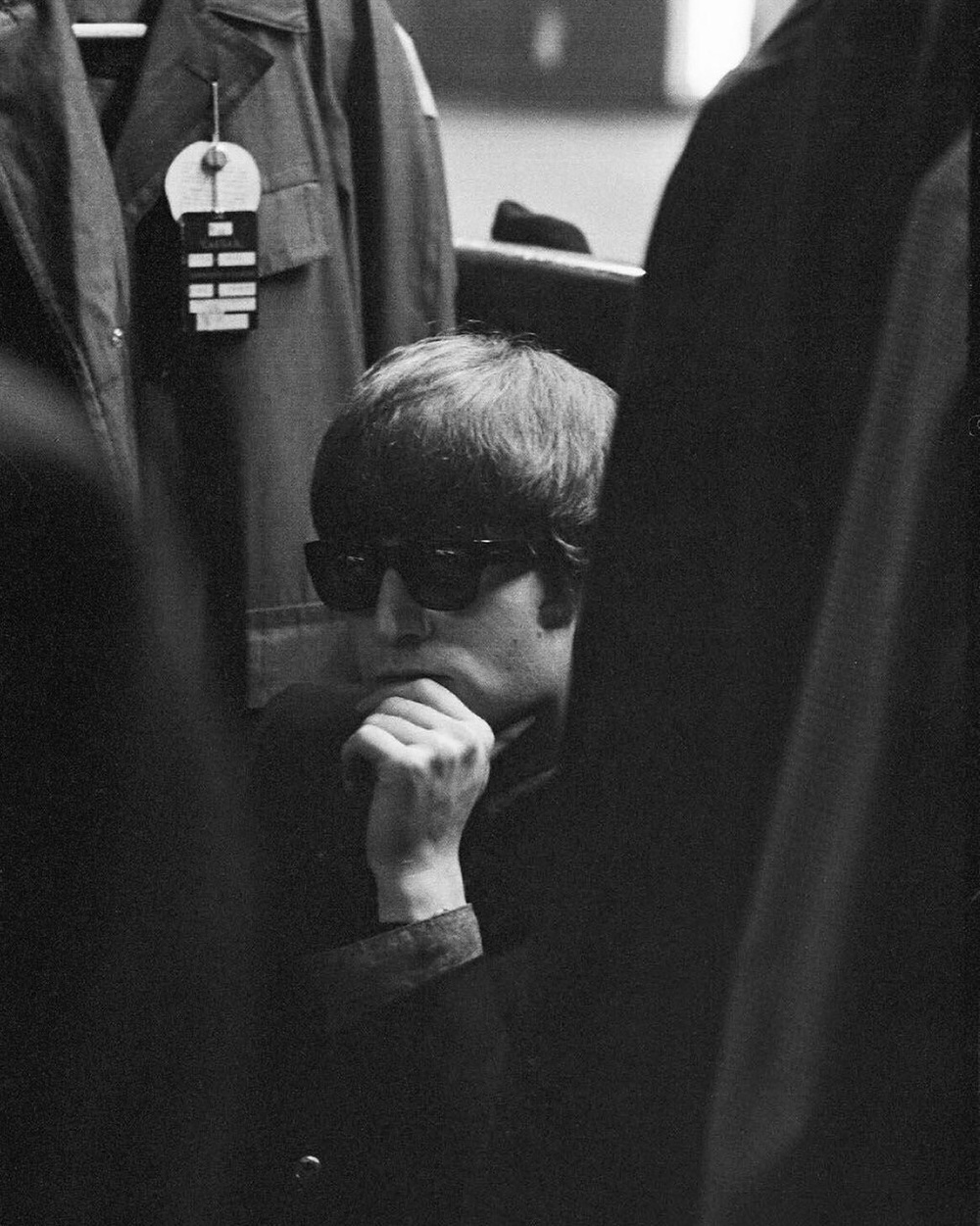 John Lennon, 1964. Photo by George Harrison.