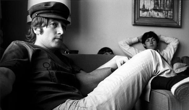 John Lennon, Paul McCartney and Ringo Starr, 1965.