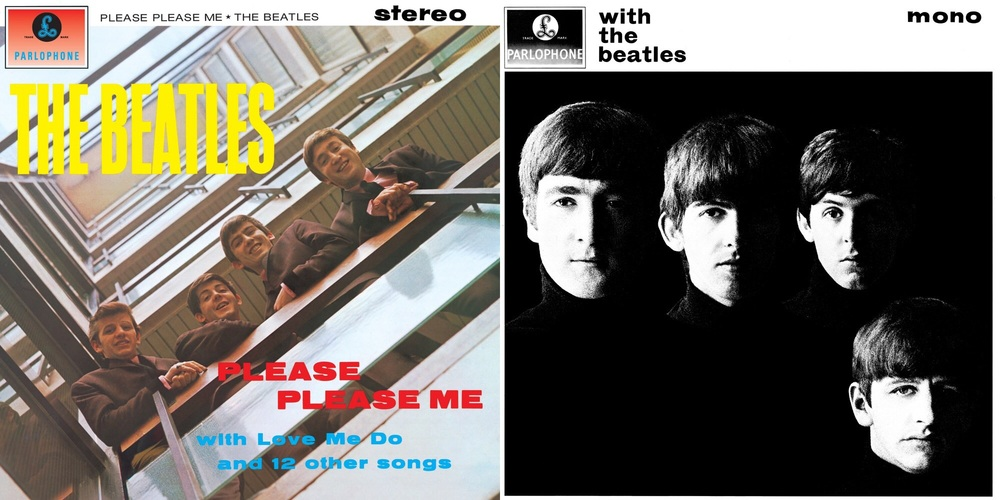 Please Please Me/With the Beatles 1963.