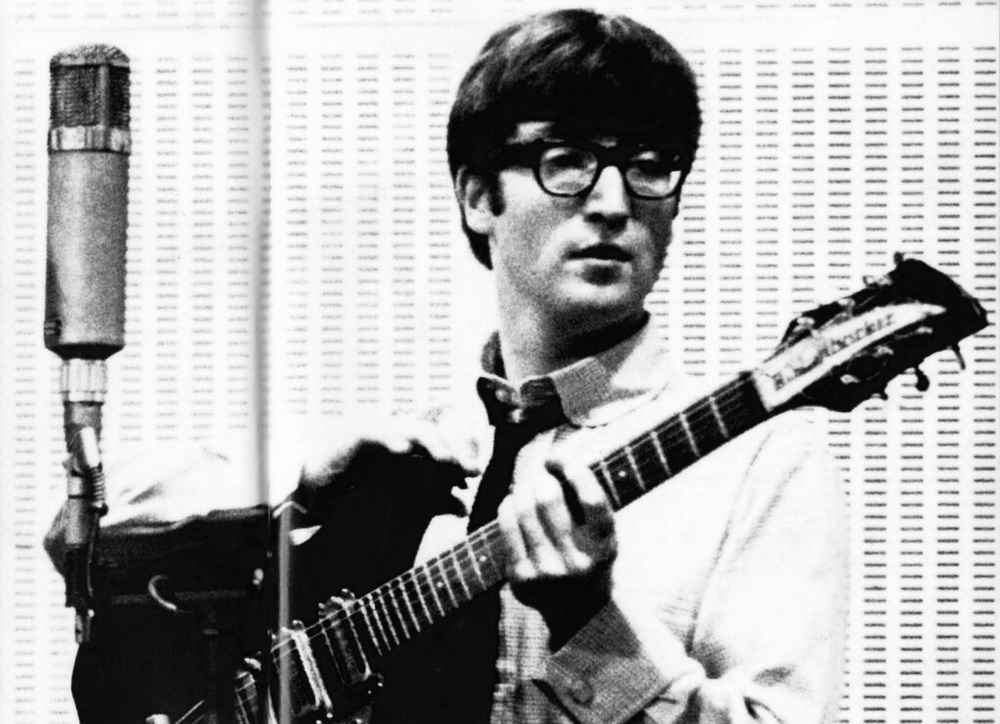 John Lennon at the BBC, 1963.