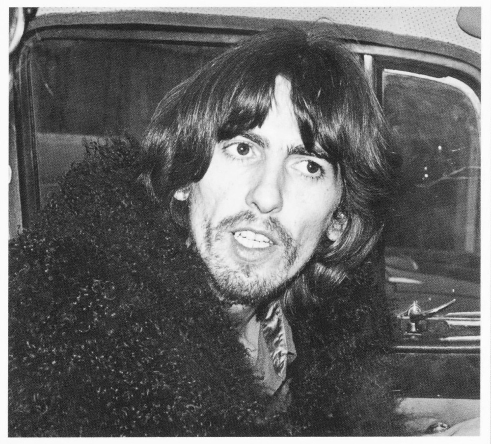 George Harrison during the time the Beatles were recording Let It Be, 1969.