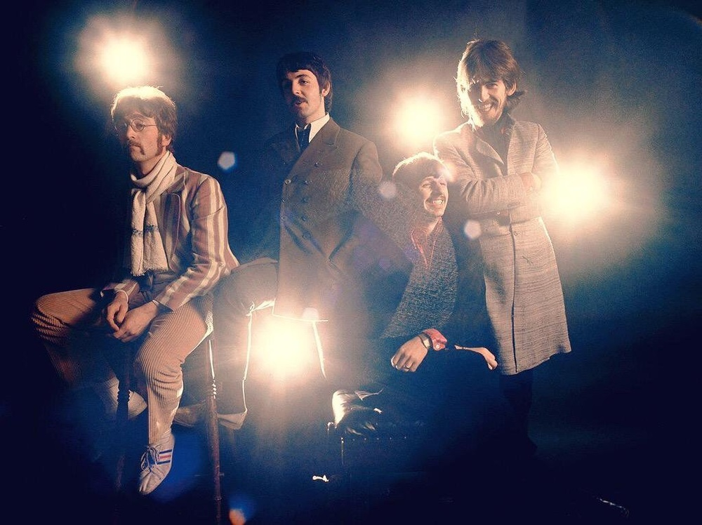 Photo shoot from 1967, used for the Strawberry Fields Forever/Penny Lane single.