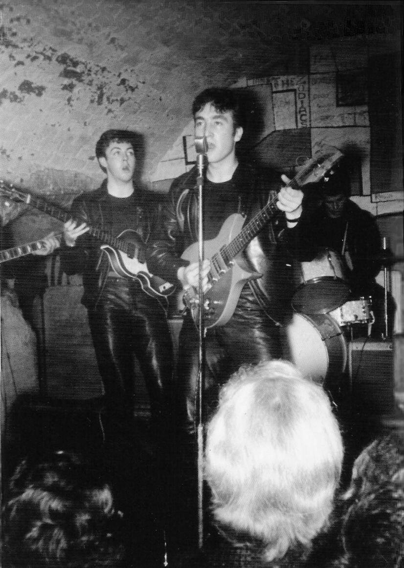 The Beatles with Pete Best, 1960.
