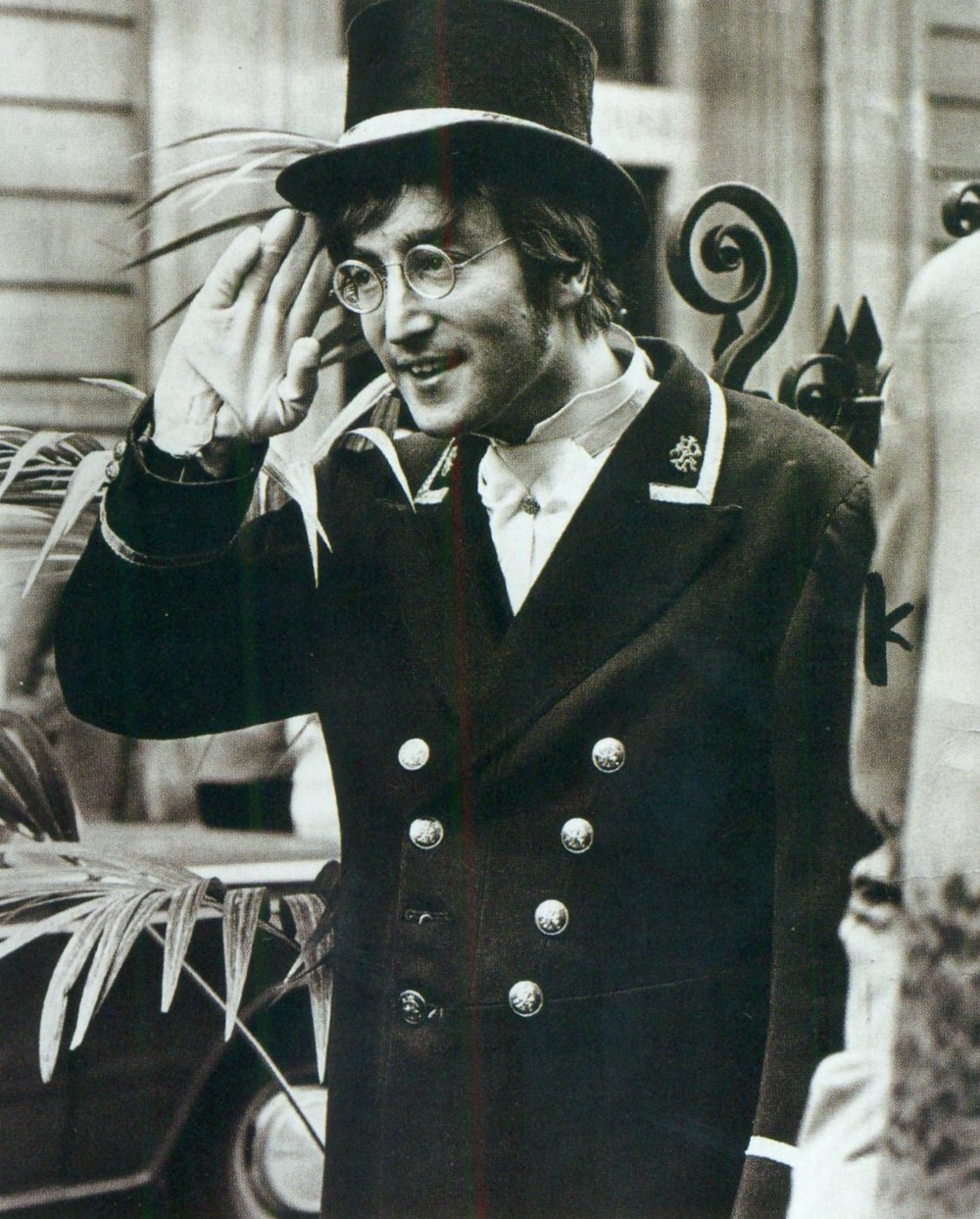 John Lennon filming a skit for Not Only... But Also, November 27th 1966.