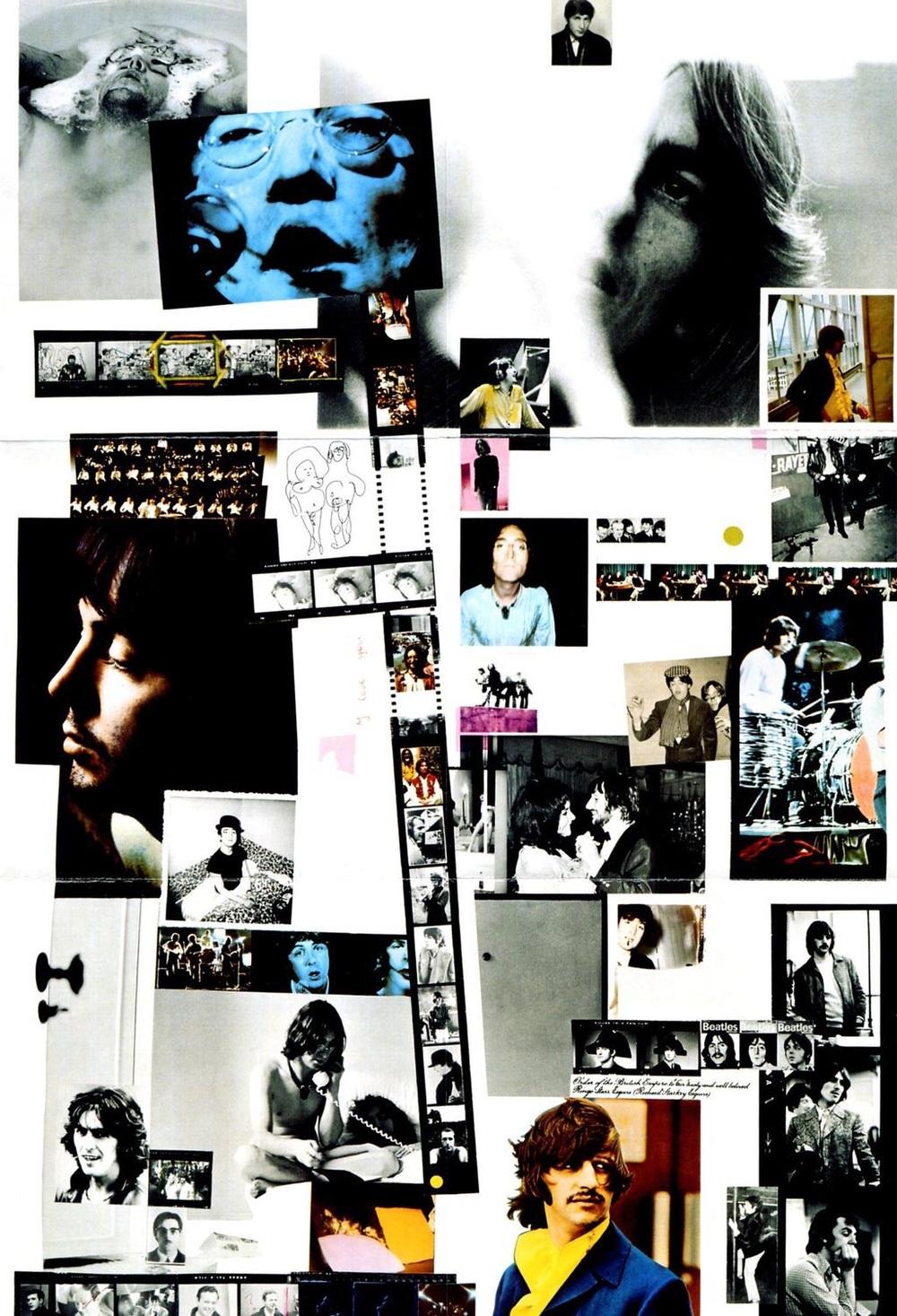 White Album sleeve, 1968.