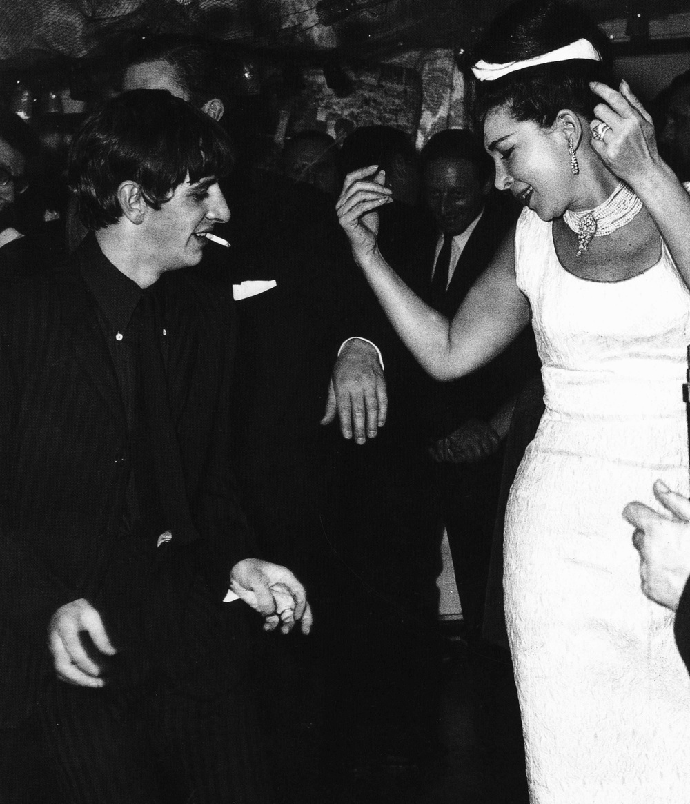Ringo Starr dancing at a party held by washing-machine tycoon John Bloom, 1963.