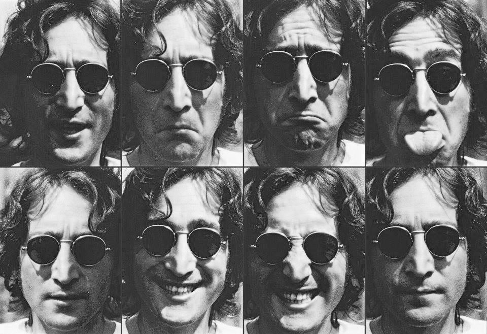 John Lennon photo shoot, 1974.
