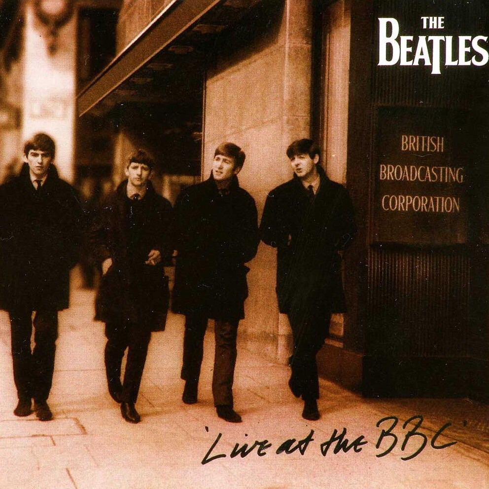 Live at the BBC front album cover, 1994.