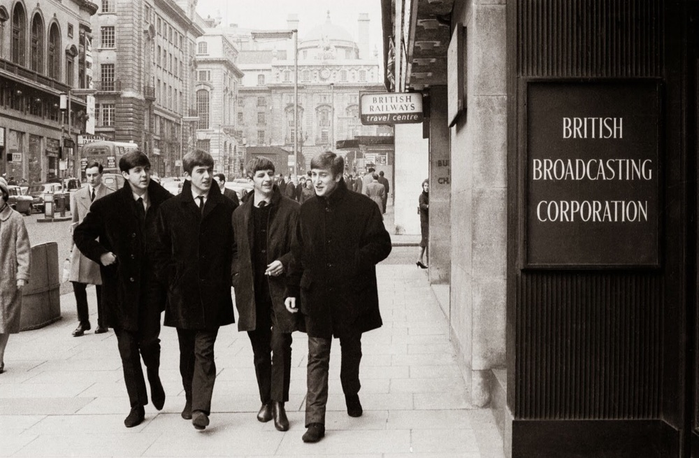 The Beatles in London, 1963.