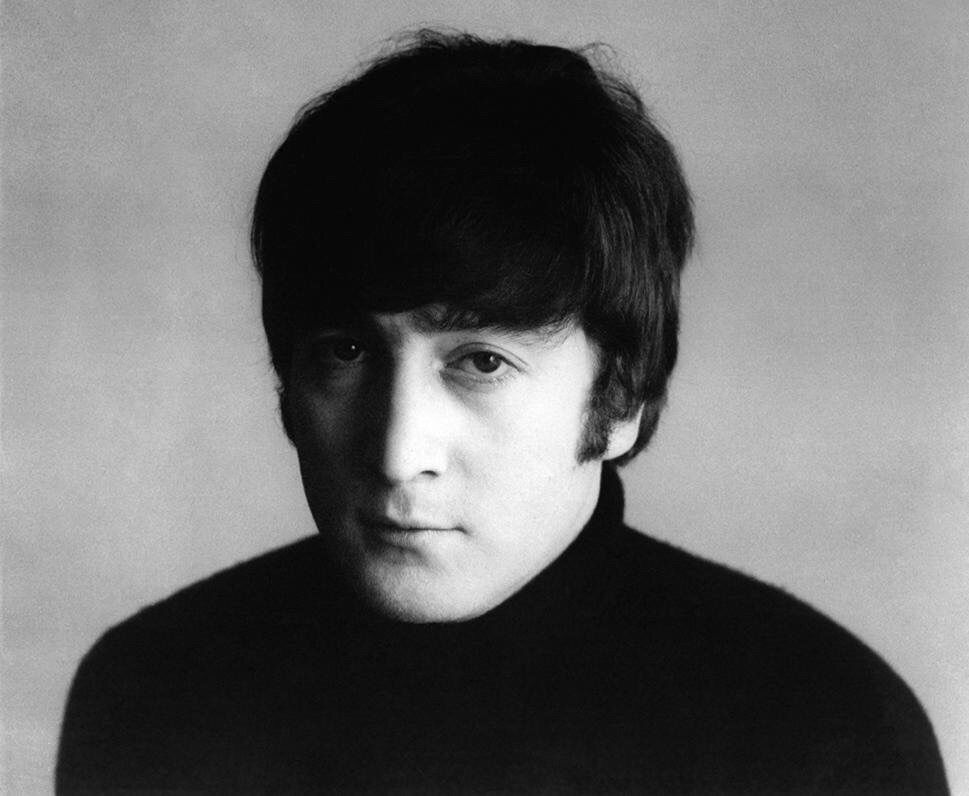 John Lennon photographed for A Hard Day's Night, 1964.
