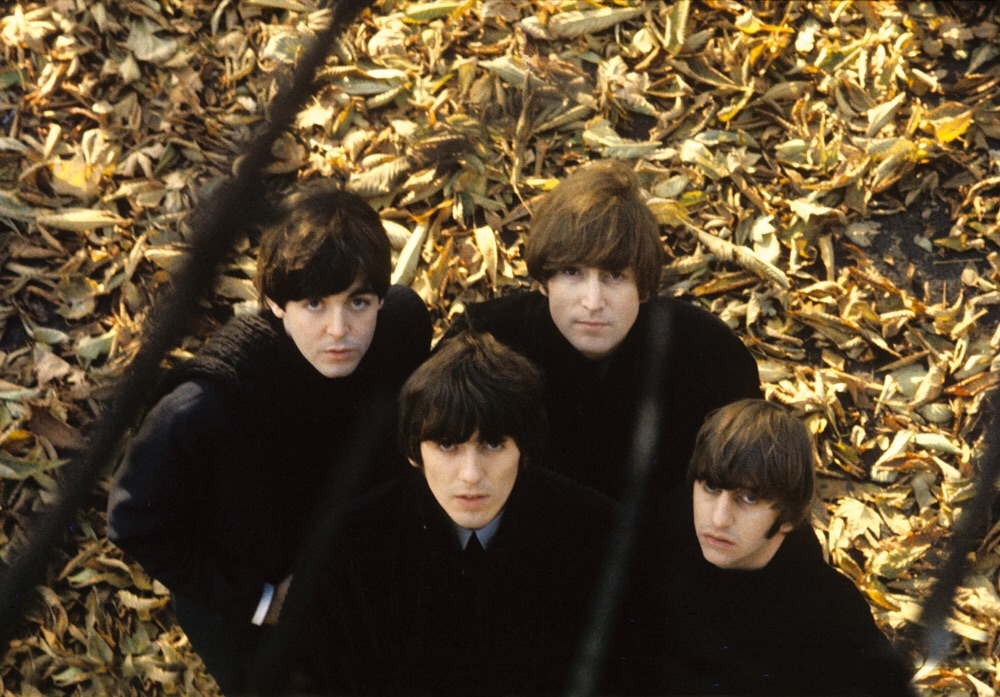 The Beatles' photo shoot for Beatles for Sale, taken by Robert Freeman, 1964.