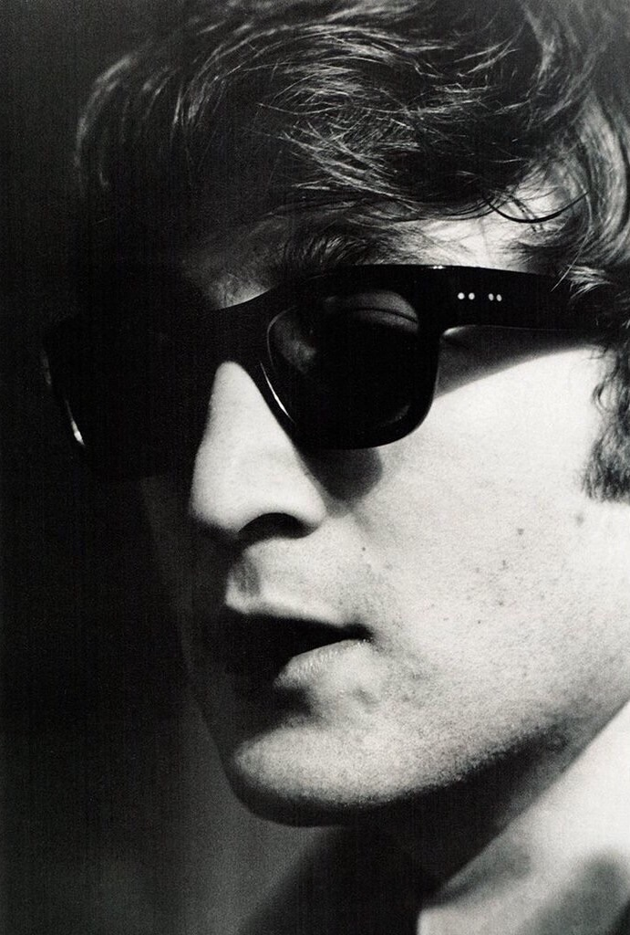 John Lennon 1964; photo by Ringo Starr.