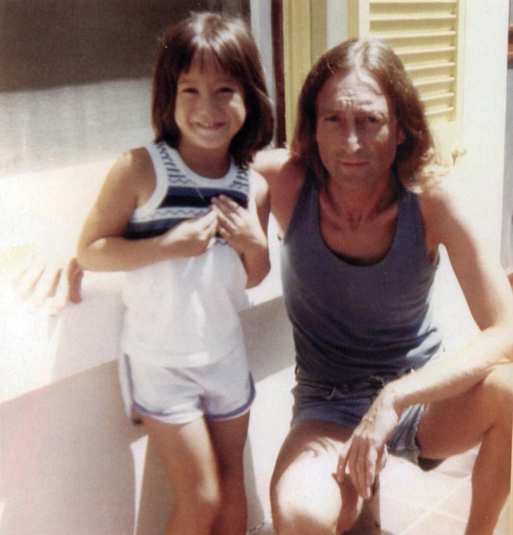John and Sean Lennon in Bermuda, 1980.