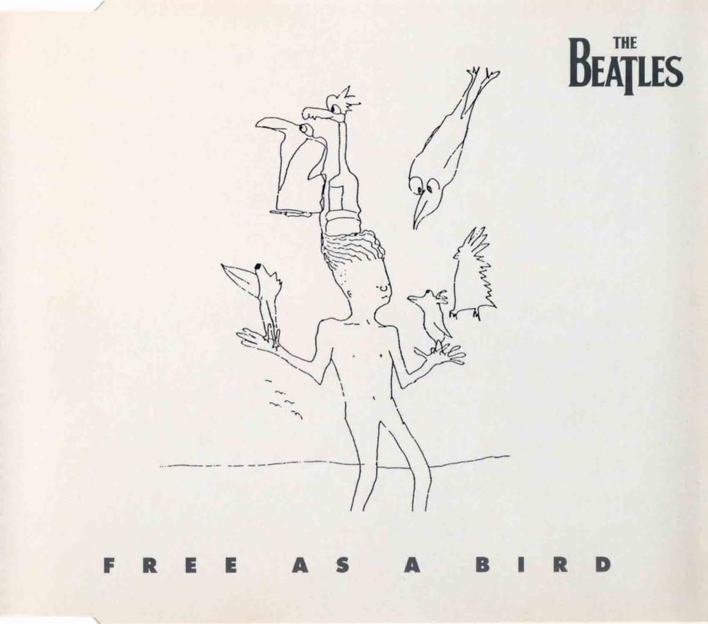 Free as a Bird single, 1995.