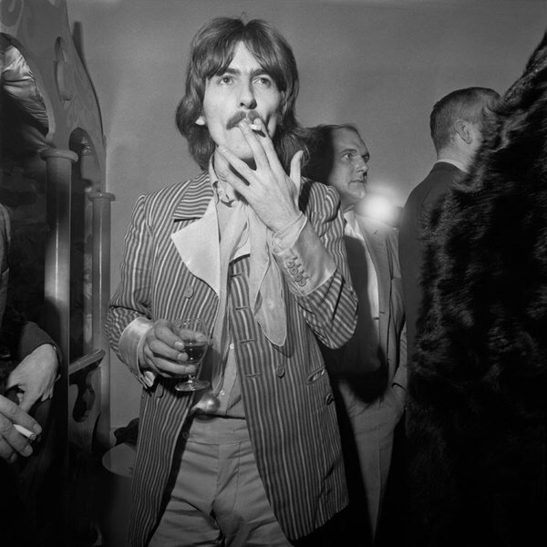 George Harrison at the launch party for the Apple Boutique store, December 5th 1967.