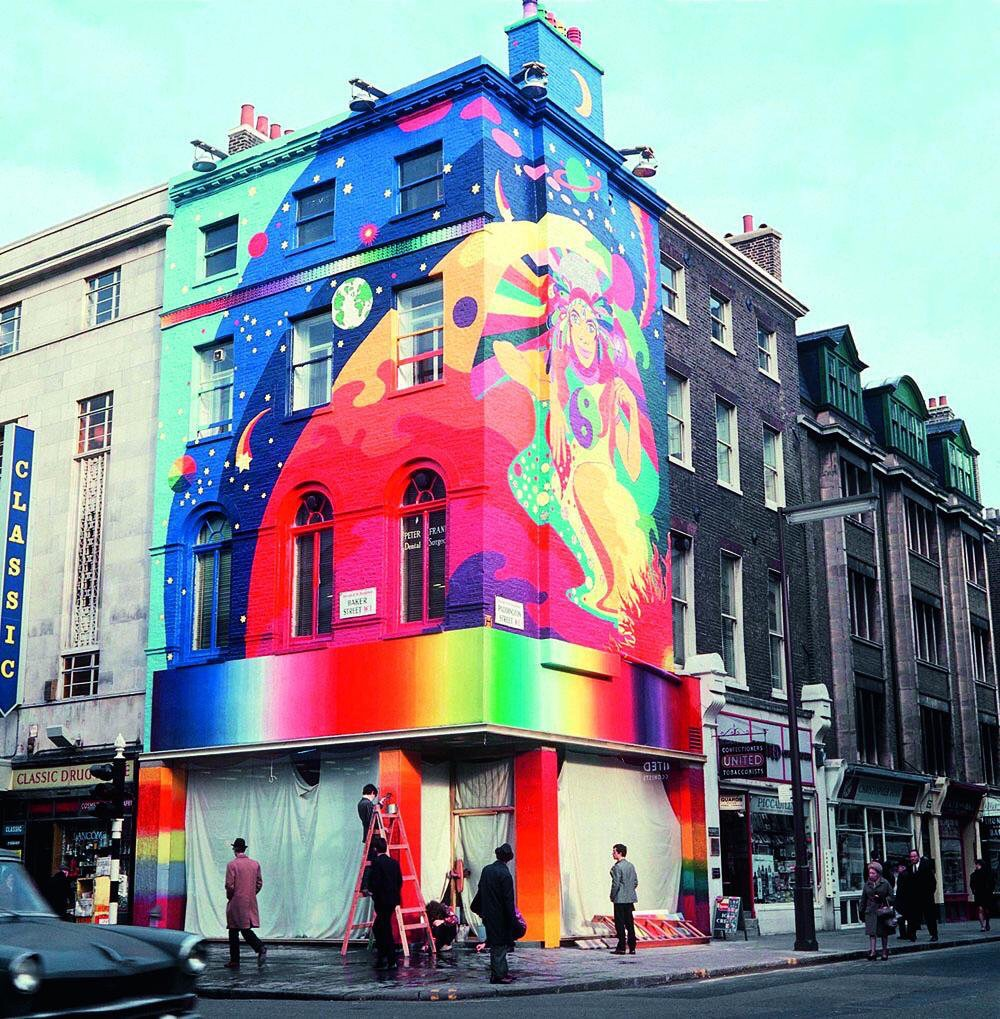 The Apple Boutique store at 94 Baker Street, London.