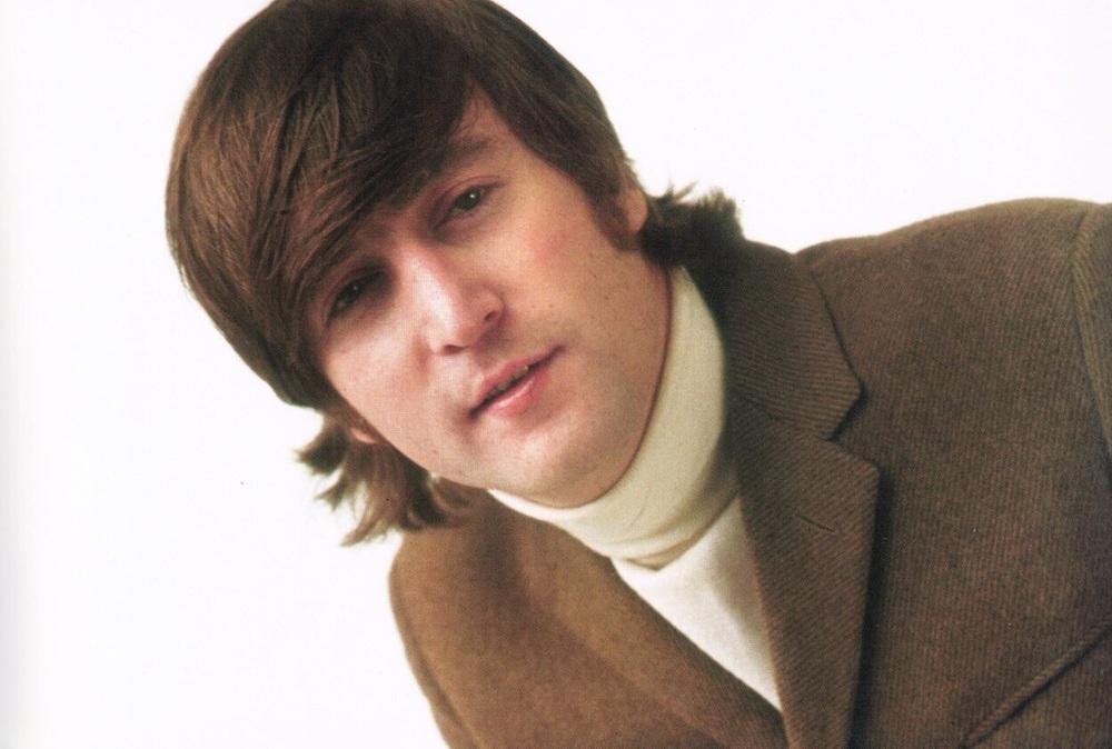 John Lennon at the butcher photo shoot, March 25th 1966.