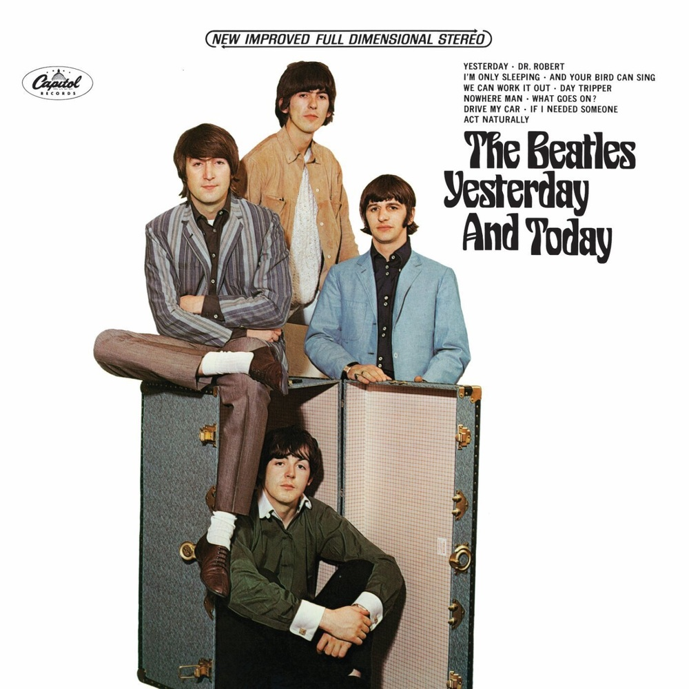 Yesterday and Today re-released cover from July 20th, 1966.