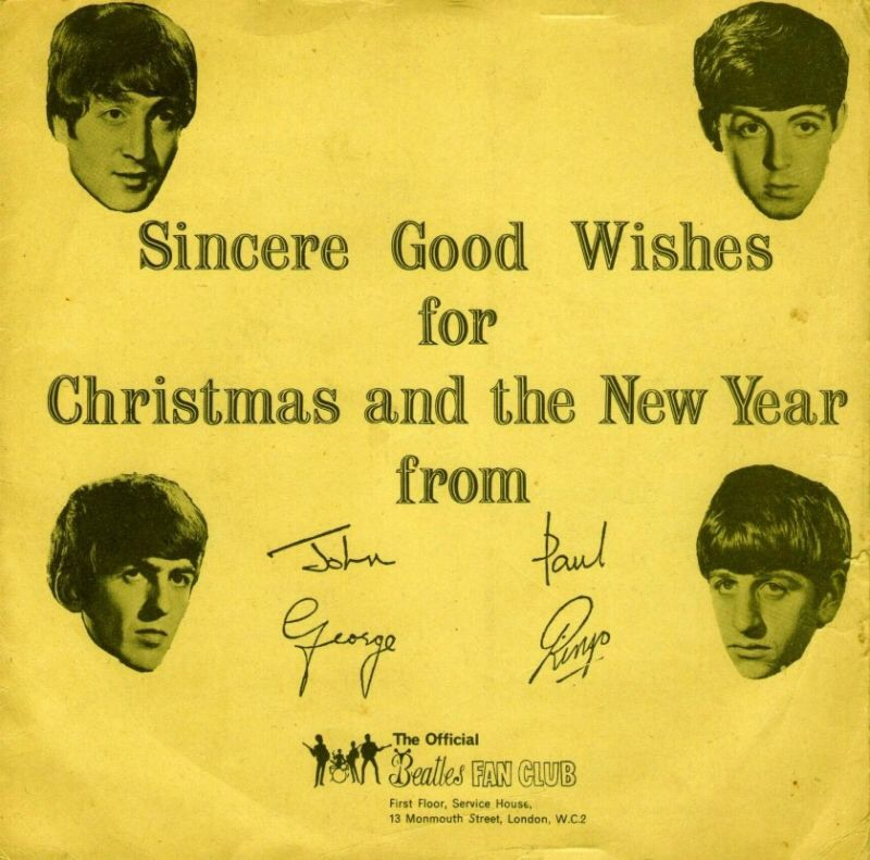 The Beatles' Christmas Record, 1963.