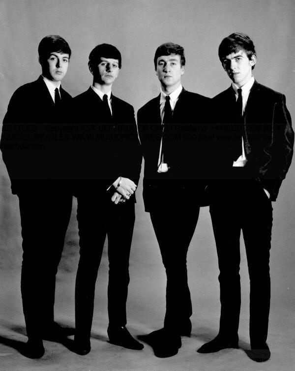 The Beatles, circa 1962.