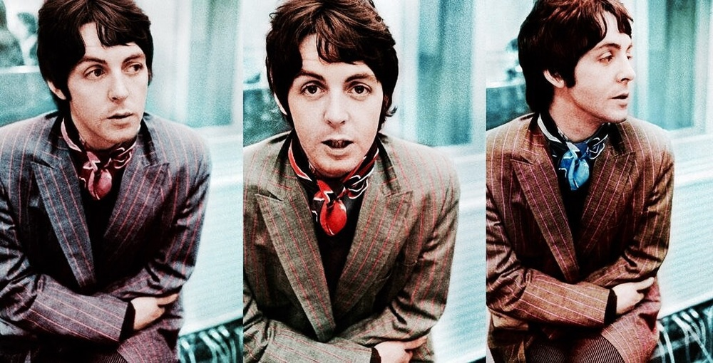 Paul McCartney photographed in 1967.