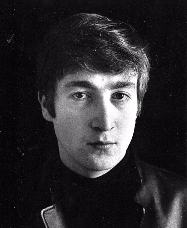 John Lennon in Hamburg, 1962.