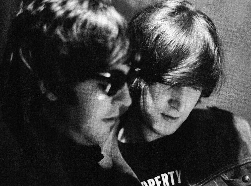 Paul McCartney and John Lennon, 1965.