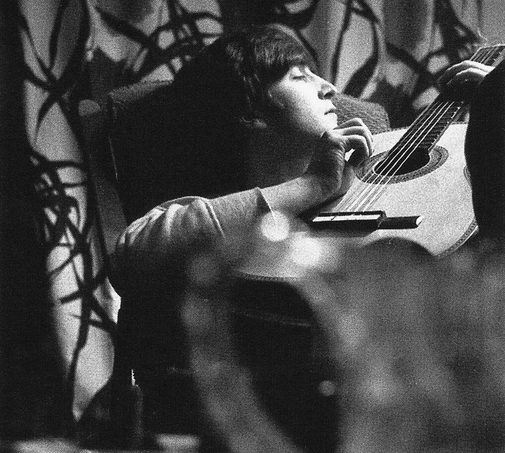 John Lennon 1964. Photo by Astrid Kirchherr.