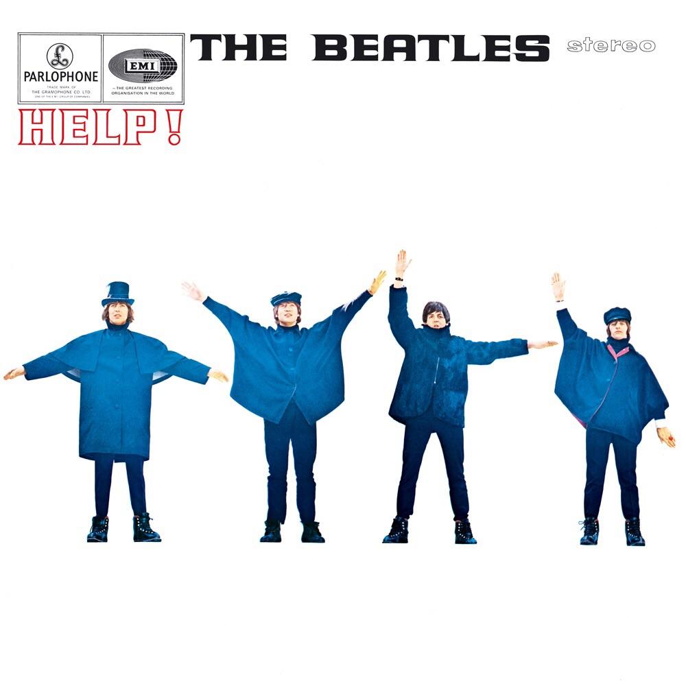 Help! UK album cover, 1965.