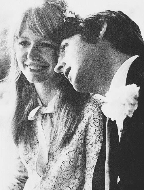 Paul McCartney and girlfriend Jane Asher.